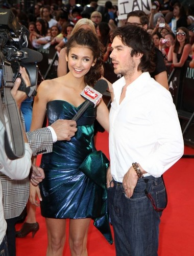 Ian Somerhalder Hintergrund possibly with a hip boot entitled ian+nina=<3