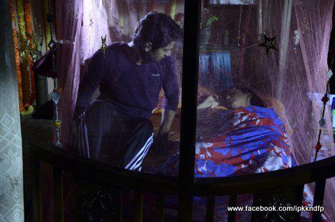 khushi and arnav's বিছানা scenes