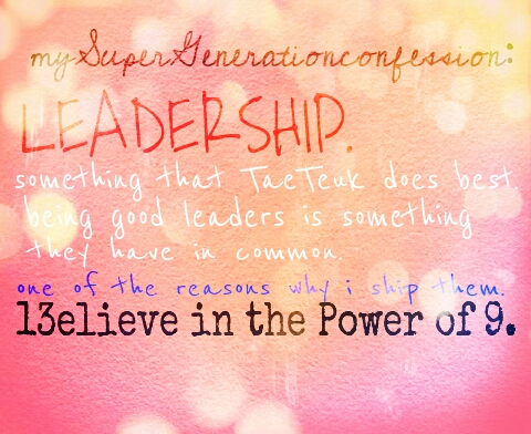 leadership...