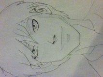 my sketch of Lucas
