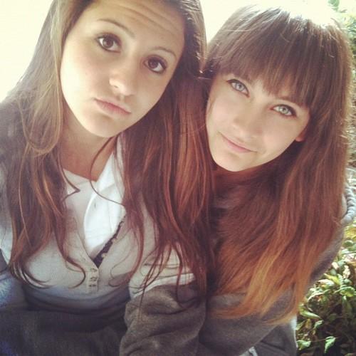 paris and friend