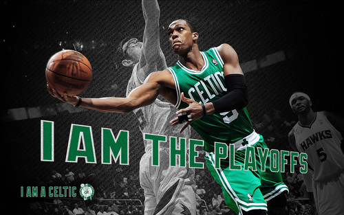 Rajon Rondo wallpaper containing a basketball player, a dribbler, and a basketball titled playoffs 2012