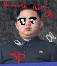 so kawaii kim jung un desu desu