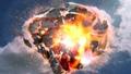 spaceship destroyed