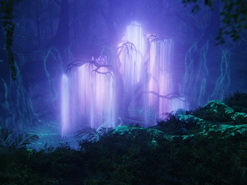 Avatar wallpaper containing a fountain titled tree of souls