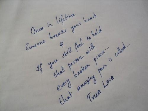 true love~
