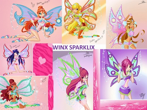 The Winx Club wallpaper called winx sparklix