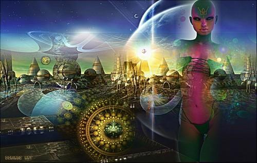 Wonderfulness Hintergrund probably with a konzert called ><><Drifting Spirit><><