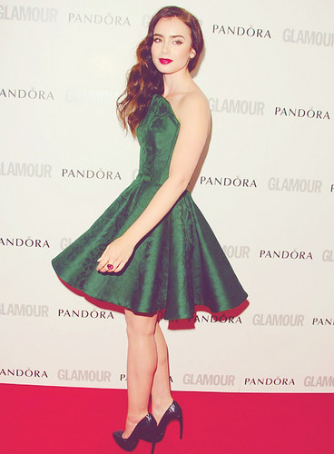 Lily Collins | 2012 Glamour Women of the año Awards