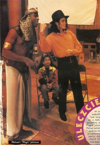 ?, Michael Jackson's niece Brandi Jackson and Michael Jackson