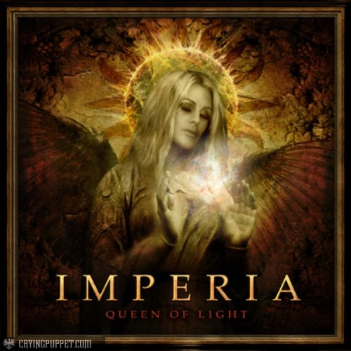 """Queen of Light"" Official Album Cover"