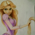 *..: Rapunzel:..* - fine-art fan art
