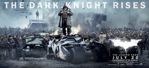 'The Dark Knight Rises' Promotional Banner ~ Bane (HQ)
