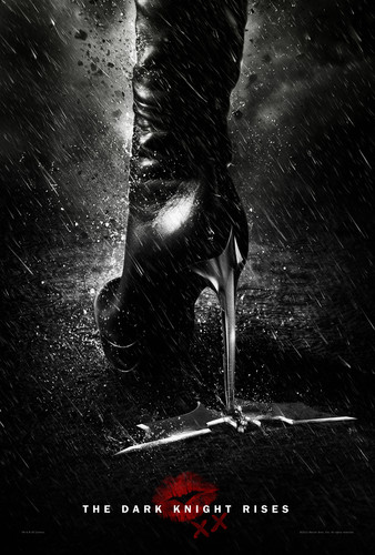 "'The Dark Knight Rises' ""Secret"" Catwoman Poster"