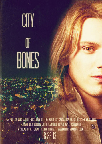 'The Mortal Instruments: City of Bones' fanmade character poster - mortal-instruments Fan Art