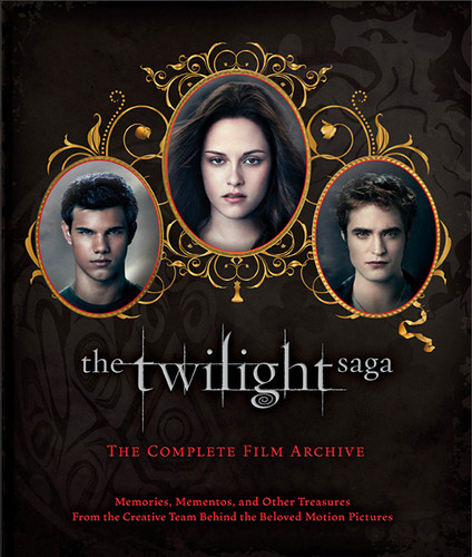 'The Twilight Saga: The Complete Film Archive' book cover