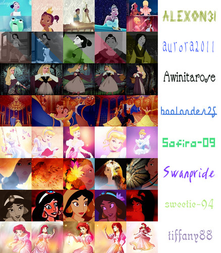 Disney Princess wallpaper entitled 20 in 20 icon challenge Round 15