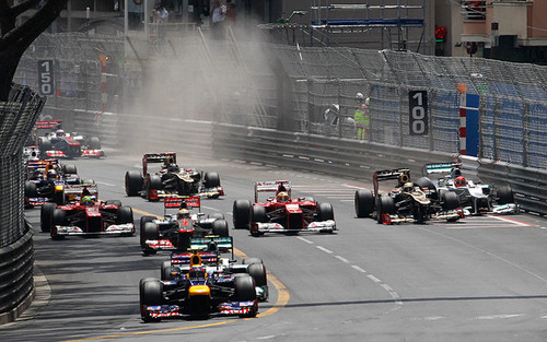 2012 Monaco GP - lewis-hamilton Photo
