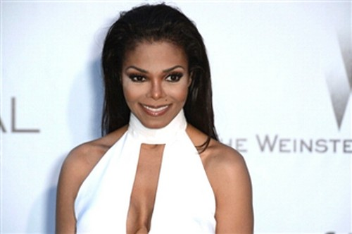 Janet Jackson wallpaper probably with a portrait entitled 2012 amfAR's Cinema Against AIDS -Arrivals