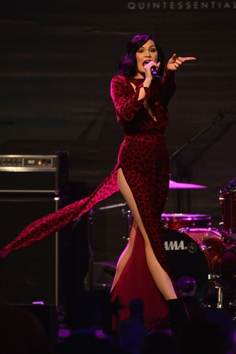 Jessie J wallpaper with a concert and a guitarist called 2012 amfAR's Cinema Against AIDS During The 65th Cannes Film Festival [24 May 2012]