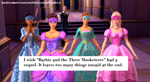 3M related Barbie films Confessions