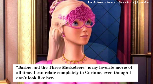3M related barbie cine Confessions