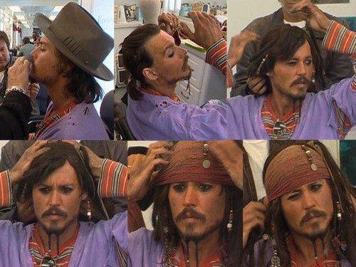 6 steps to Jack Sparrow