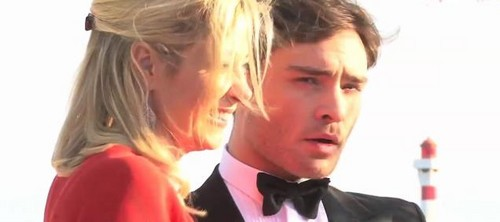 Ed Westwick wolpeyper entitled 65th Annual Cannes Film Festival - May 19, 2012