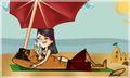 A day at the beach - total-drama-island fan art