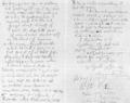 A letter to Stu Sutcliffe written by John Lennon 2