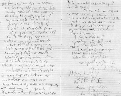John Lennon wallpaper entitled A letter to Stu Sutcliffe written by John Lennon 2