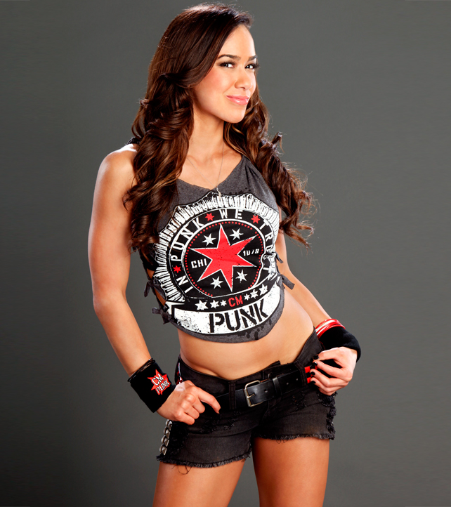 AJ Lee - WWE Divas Photo (30992261) - Fanpop Aj Lee Clothes Line
