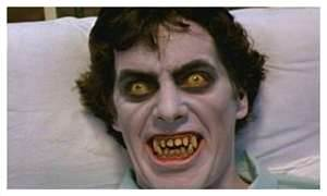 Horror films achtergrond possibly with a portrait titled AMERICAN WEREWOLF IN LONDON (The Original)