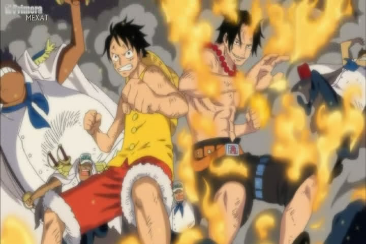 brothers luffy and ace wallpaper - photo #4