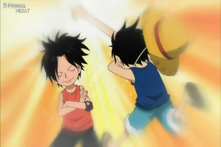 ace and luffy fighting wallpaper - photo #24