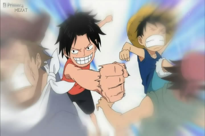 brothers luffy and ace wallpaper - photo #14
