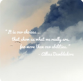 Albus Dumbledore Quote - anj-and-jezzi-the-aries-twins fan art