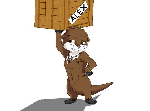 Alex the Otter