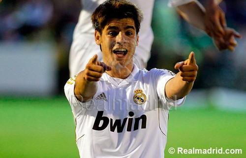 Alvaro Morata Real Madrid Castilla