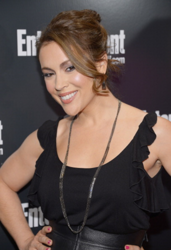 Alyssa - Entertainment Weekly & ABC TV Up Front VIP Party, May 15, 2012 - alyssa-milano Photo