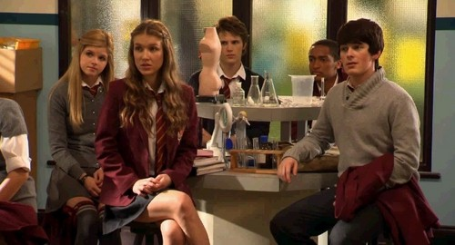 Amber, Nina, Fabian, Jerome, and Alfie