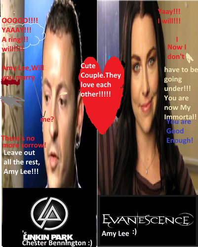 Amy Lee falls in amor