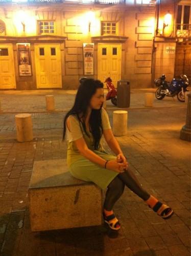 Amy in Spain