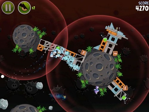 Angry Birds Space Danger Zone
