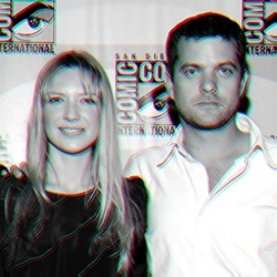 Anna Torv and Joshua Jackson Hintergrund entitled Anna & Josh ♥