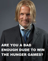 Are you a bad enough dude to win the hunger games? - haymitch-abernathy photo