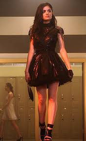 Pretty Little Liars wallpaper called Aria at homecoming