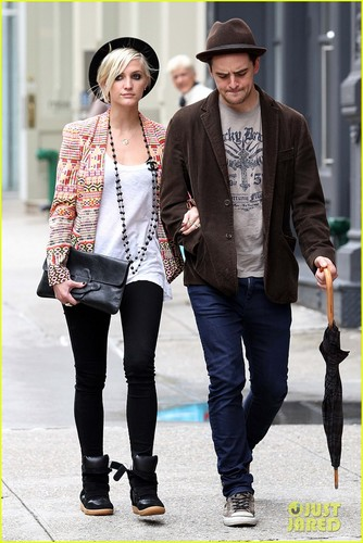 Ashlee Simpson & Vincent Piazza: Big apfel, apple Bonding