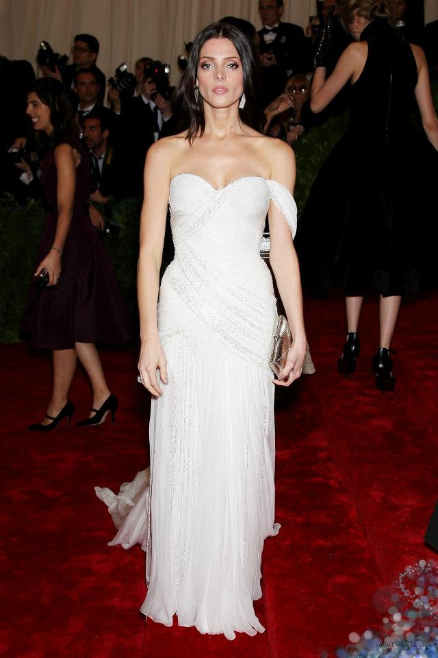 Ashley on MET Gala 2012