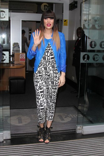 At The Studios Of BBC Radio 1 And Kiss FM [31 May 2012]
